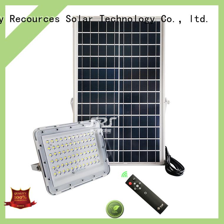SRS bifacial solar sensor garden lights customized for home use