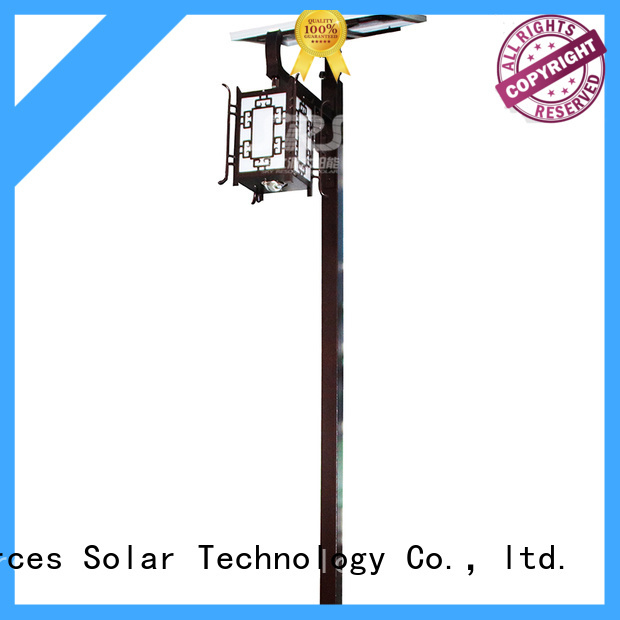 SRS smart solar powered garden lights products for posts