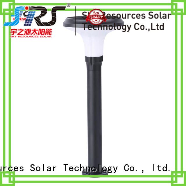 SRS solar energy garden lights working for house