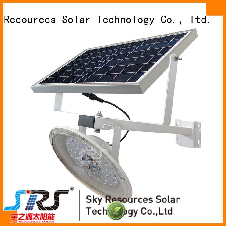 bifacial solar compound lights configuration for flagpole
