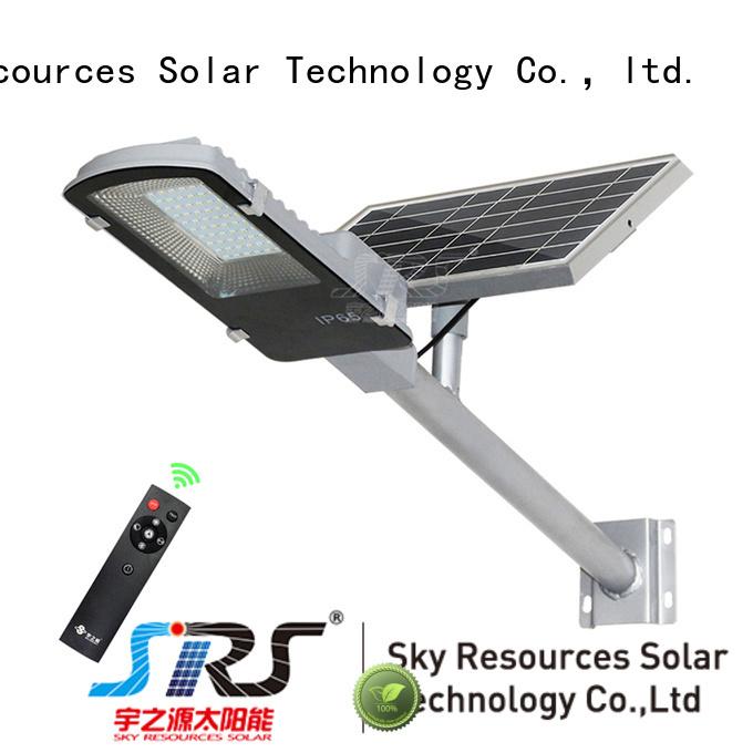 fix solar light manufacturer configuration for fence post