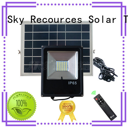 SRS cheap solar flood lights certification‎ for home use