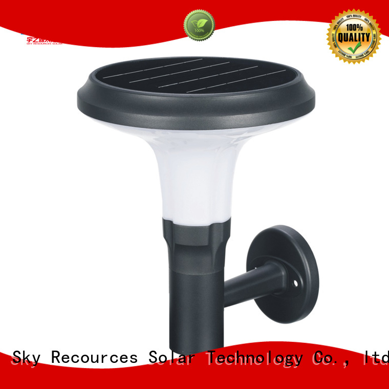 SRS advantages of outdoor lawn lamps details for trees