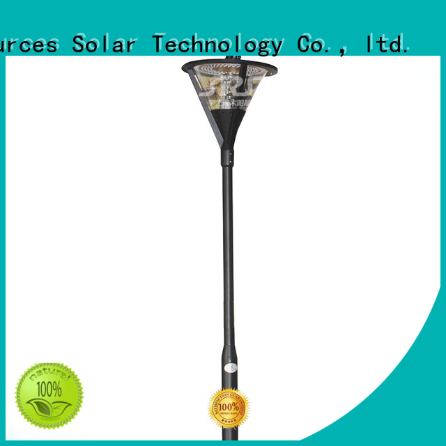 high quality solar panel garden lights garden make in China for shady areas