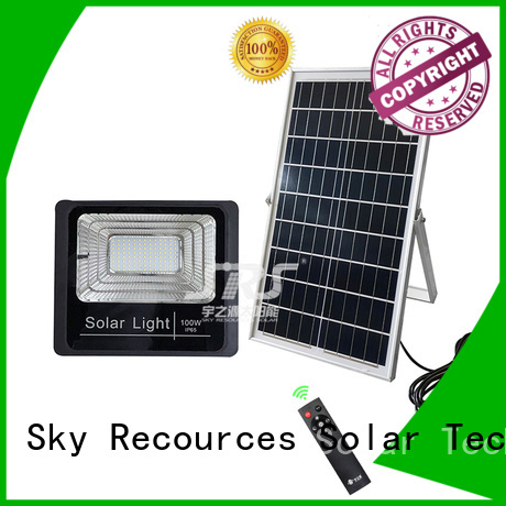 SRS cheap solar flood lights with good price for outside