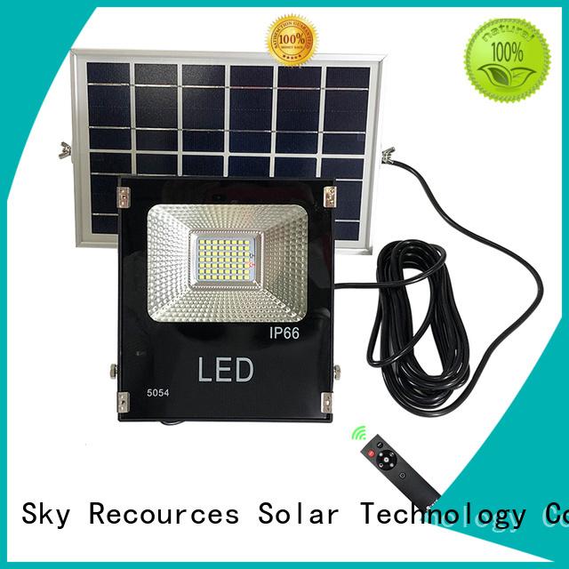 bifacial solar flood lights outdoor series for village