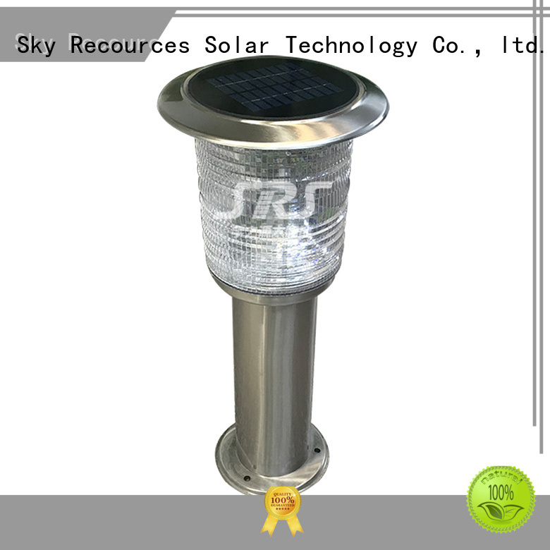 SRS outdoor lawn lamps system for umbrella