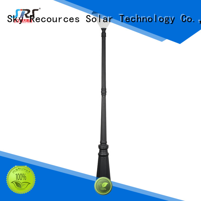 SRS solar light for garden landscape make in China for posts