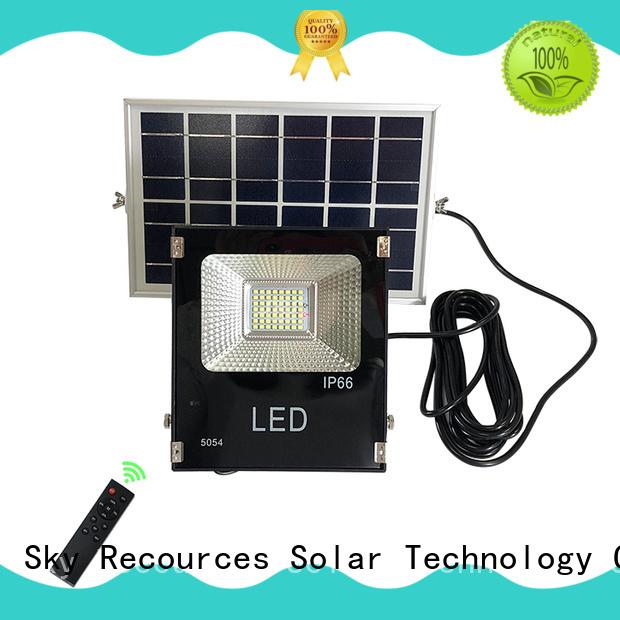 solar sensor flood lights customized for village SRS