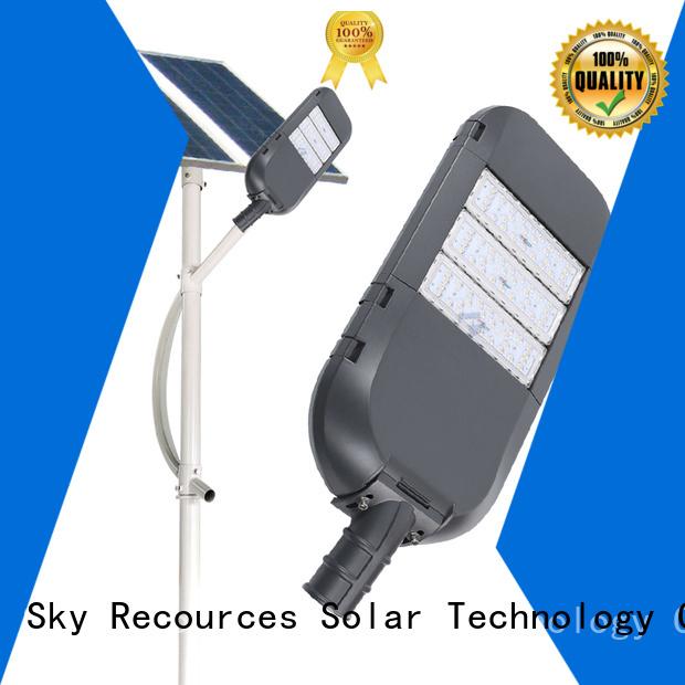SRS solar street light maintenance supplier for shed