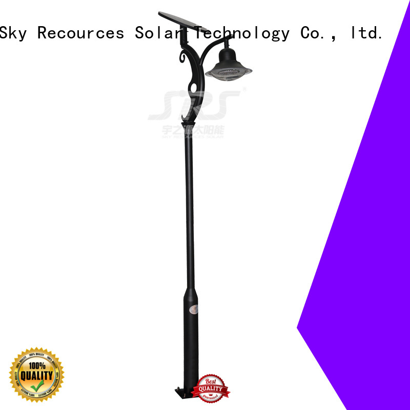 SRS national quality solar garden lights export for posts