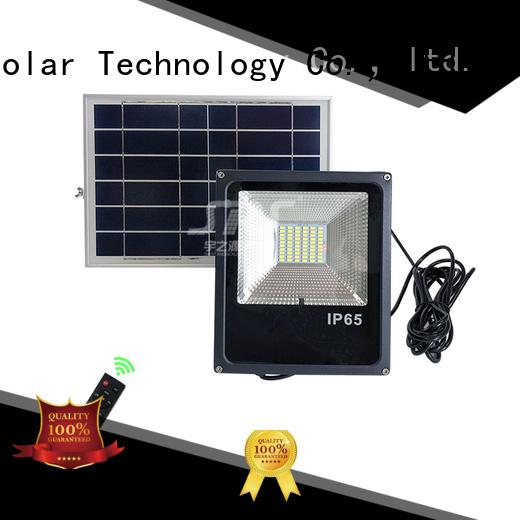 SRS advantages of solar panel flood light for village