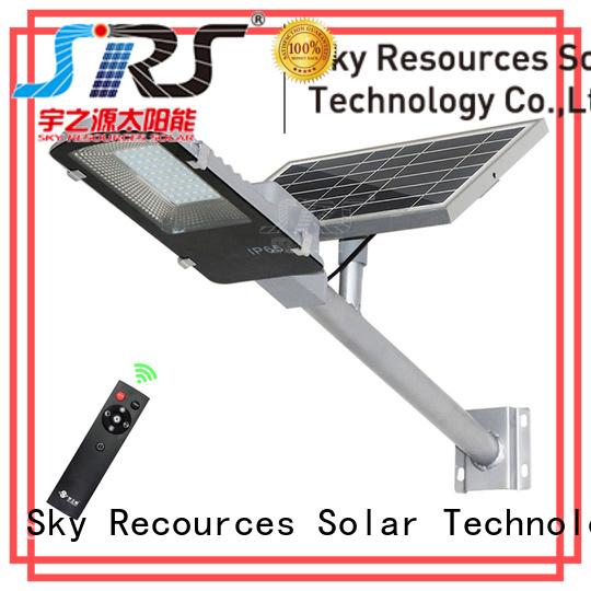 SRS waterproof solar road light configuration for garden