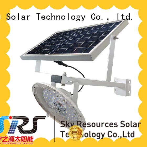 SRS cheap semi-integrated solar street light configuration for flagpole