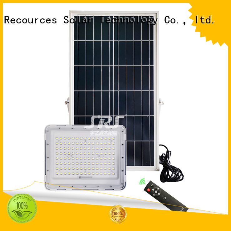 integrated solar flood light project for outside