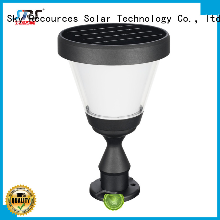 SRS integrated solar garden lights on sale manufaturer for trees