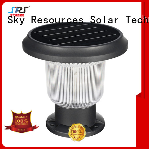 SRS Wholesale coloured solar garden lights supply for school