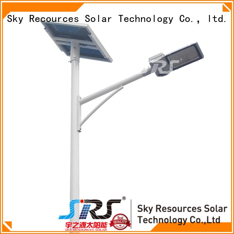 SRS fix decorative solar street lights diagram for garden