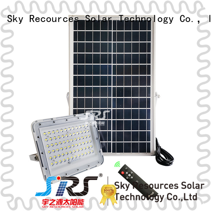 commercial solar powered flood lights series for home use SRS