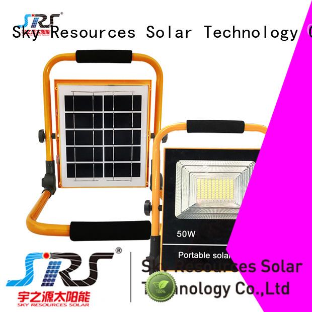 SRS yzyll106 solar sensor garden lights series for village