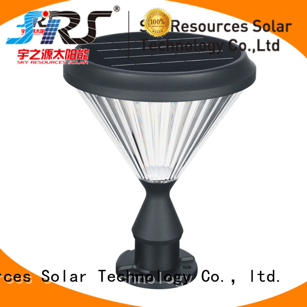SRS outdoor solar yard lights supplier for pathway