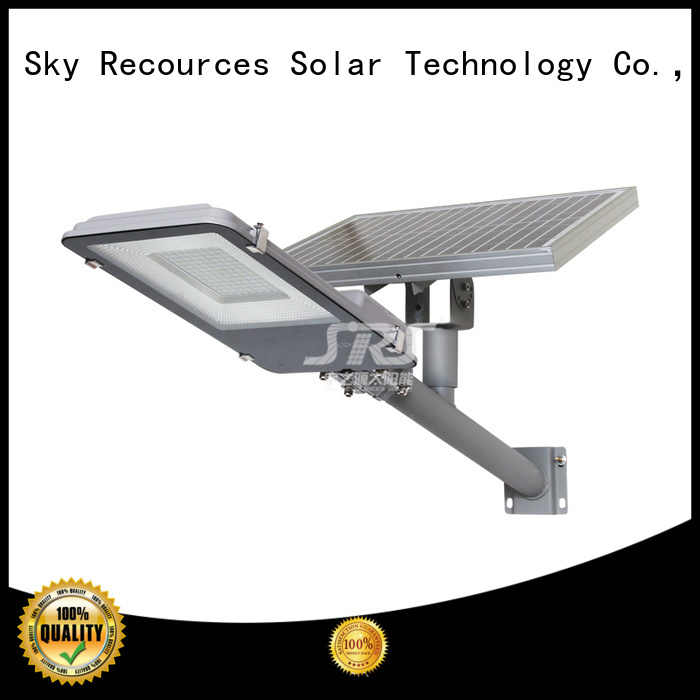SRS decorative solar street lights configuration for school