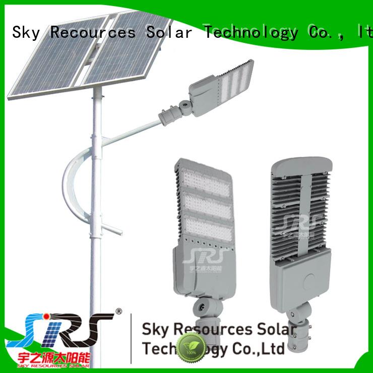 SRS buy commercial solar powered street lights apply for outside