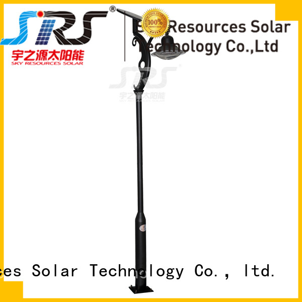 SRS outdoor solar landscape lights make in China for shady areas