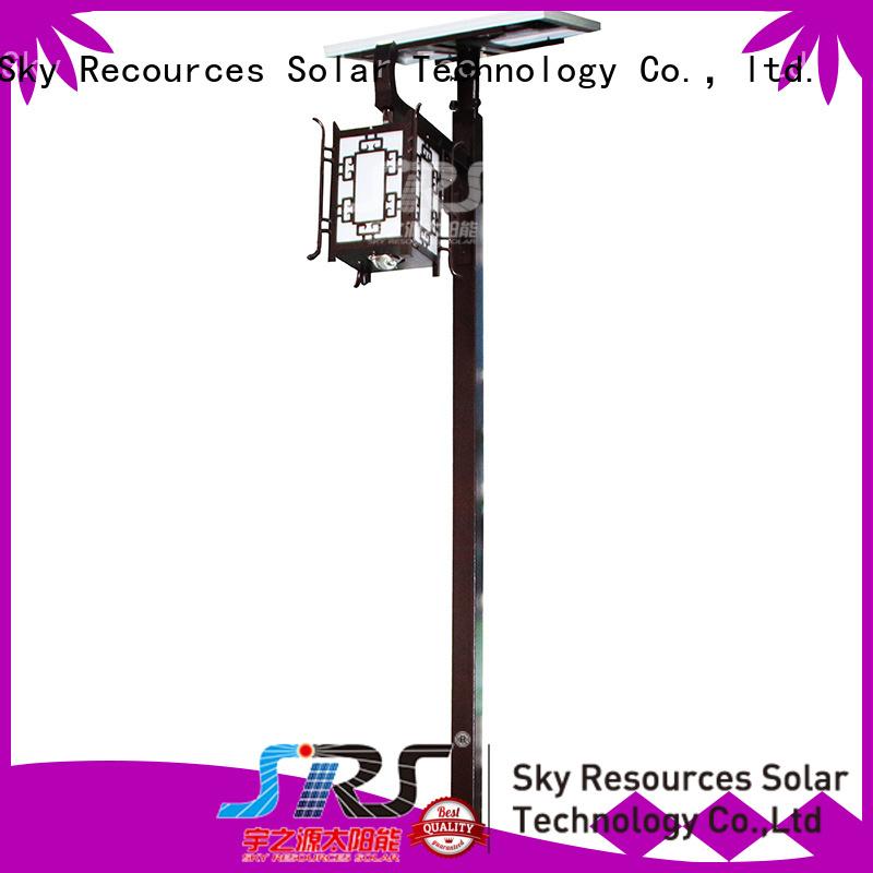 SRS smart modern garden lamp post lights make in China for walls