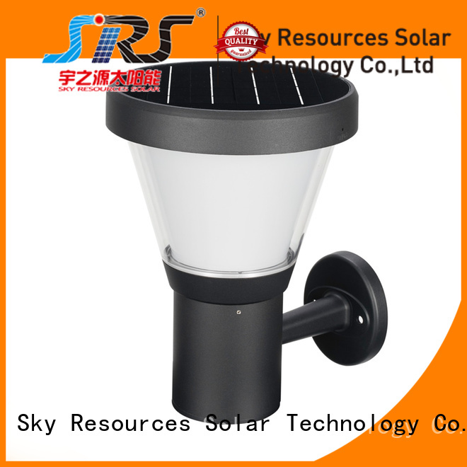 Wholesale solar wall sconce yzycp0853001b manufacturers for home