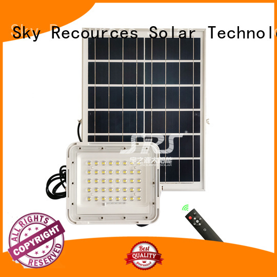 SRS best solar flood lights customized for home use
