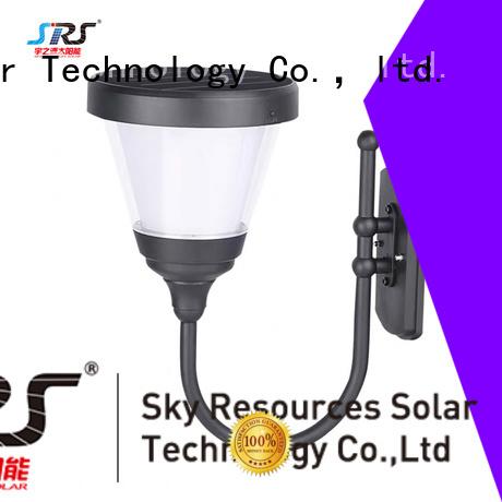 SRS solar powered garden lamps details for house