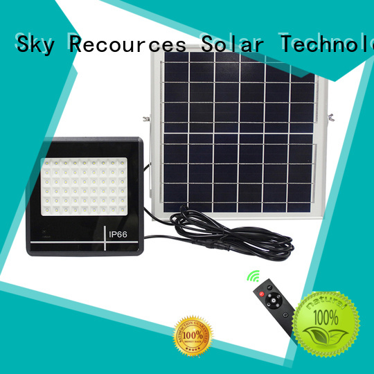 SRS integrated best outdoor solar flood lights customized for outside