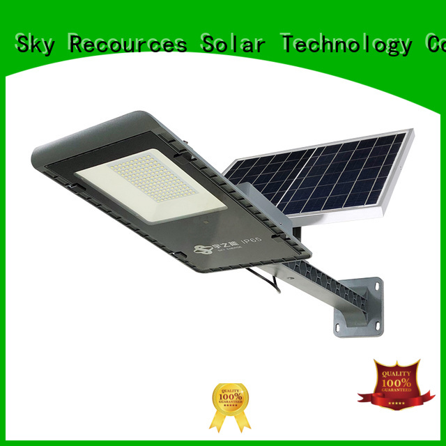 SRS fix solar road light with battery for school