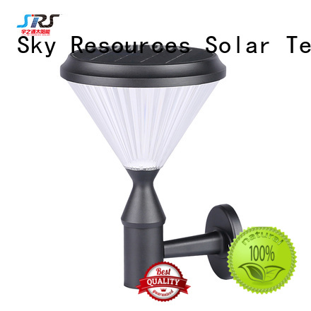 SRS Latest decorative solar wall lights supply for house