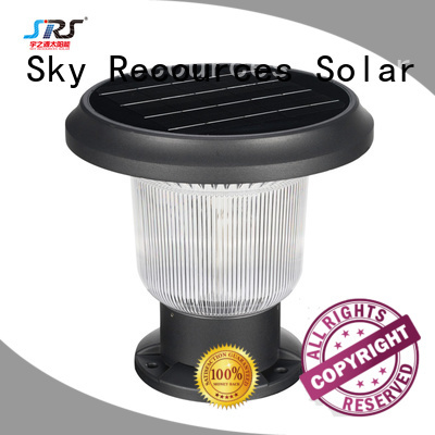 SRS outdoor solar yard lights supplier for trees