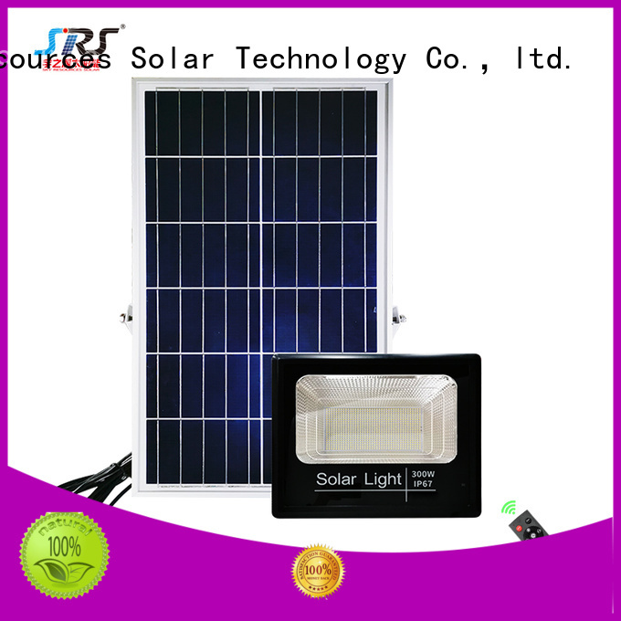 SRS solar led solar flood lights outdoor project for village