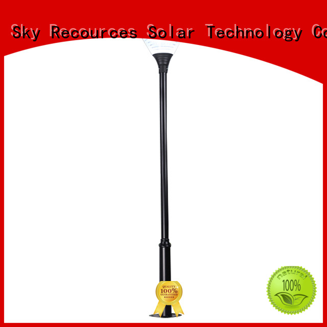 SRS high quality solar powered garden lights images for shady areas