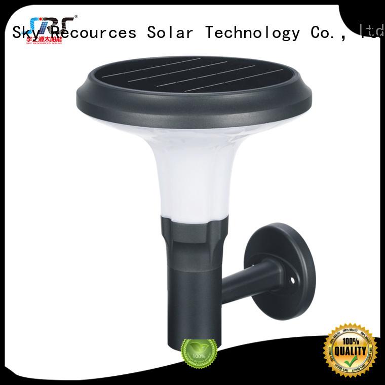 SRS integrated solar lawn lights manufaturer for posts