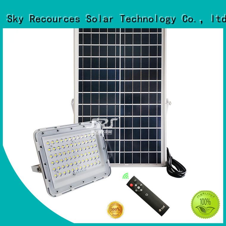 bifacial solar led flood lights customized for home use