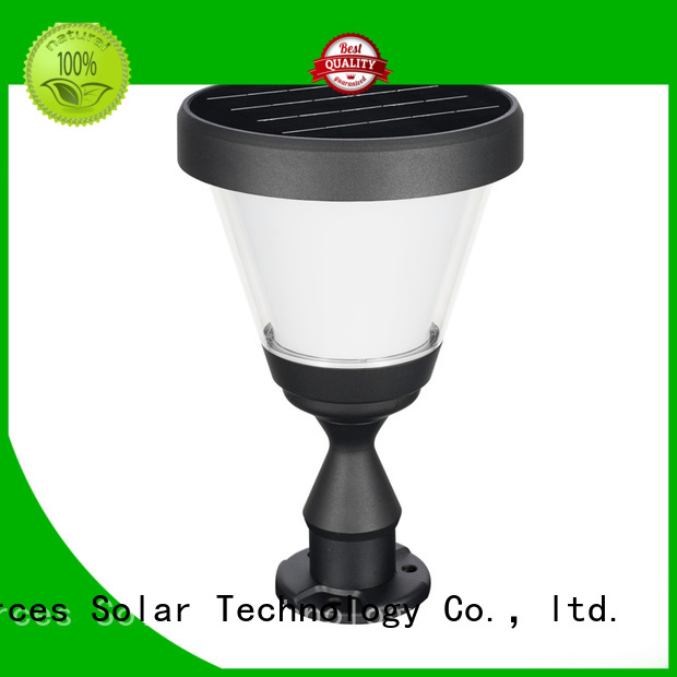 SRS custom outdoor solar lamps sale system for posts