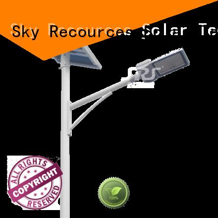 solar street lantern specification for school