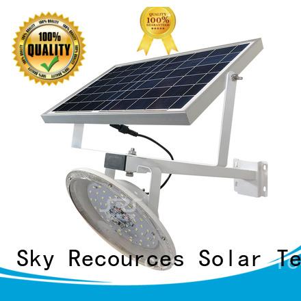 SRS cheap luminous solar street light specification for school