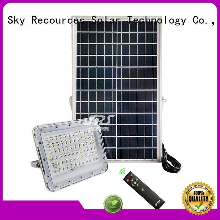SRS cheap solar flood lights customized for outside