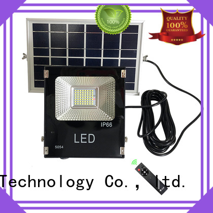 smart solar led motion flood light with good price for outside