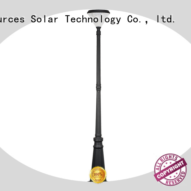 SRS smart solar powered garden lamps products for walls