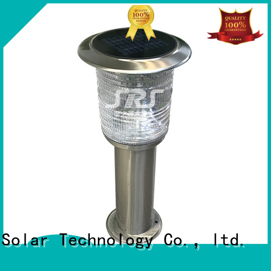 SRS solar garden lights on sale supplier for posts