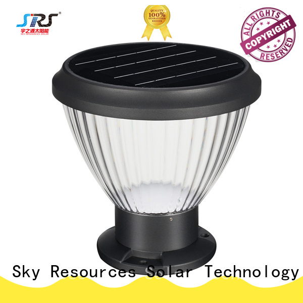SRS gate solar powered tree lights company for home use