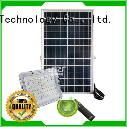 SRS commercial solar powered flood lights project for village