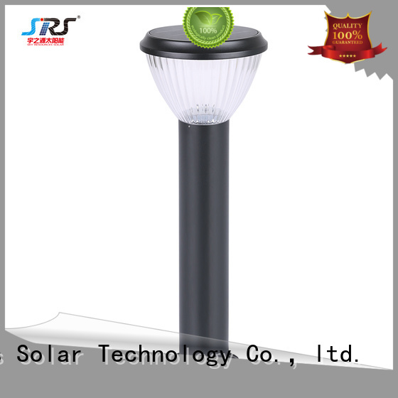 SRS solar garden lamps and lanterns working for patio